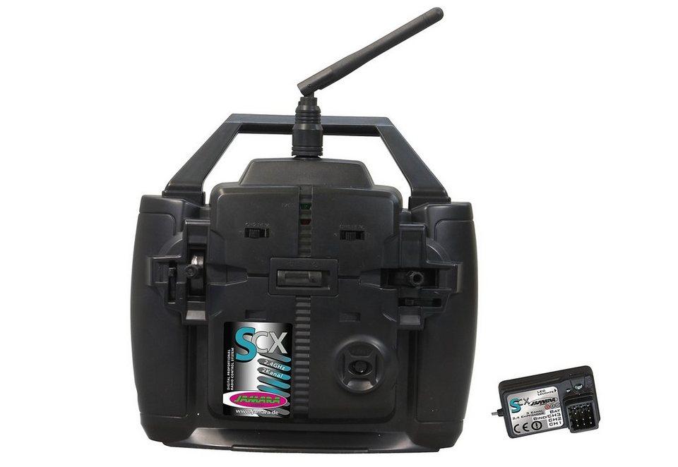 JAMARA RC-Fernsteuerung für Autos und Schiffe, »SCX 2,4 GHz« in schwarz