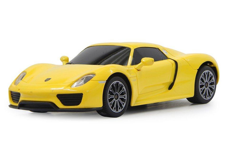 JAMARA RC-Auto, »Porsche 918 1:24 gelb« in gelb