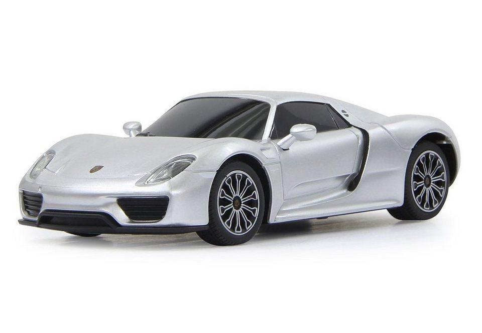 JAMARA RC-Auto, »Porsche 918 1:24 silberfarben« in silber