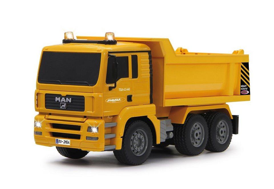 JAMARA RC-Auto, »Muldenkipper MAN 1:20« in gelb