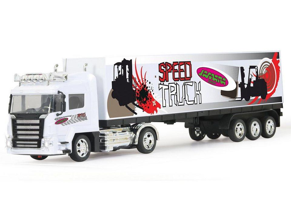 JAMARA RC-Auto, »Container-LKW 1:32« in weiß