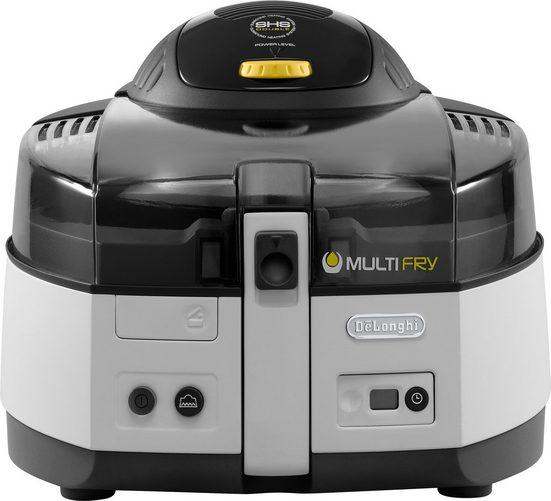 De'Longhi Heissluftfritteuse MultiFry CLASSIC FH1163, 1400 W, Multicooker mit 4-in-1 Funktion, auch zum Brotbacken