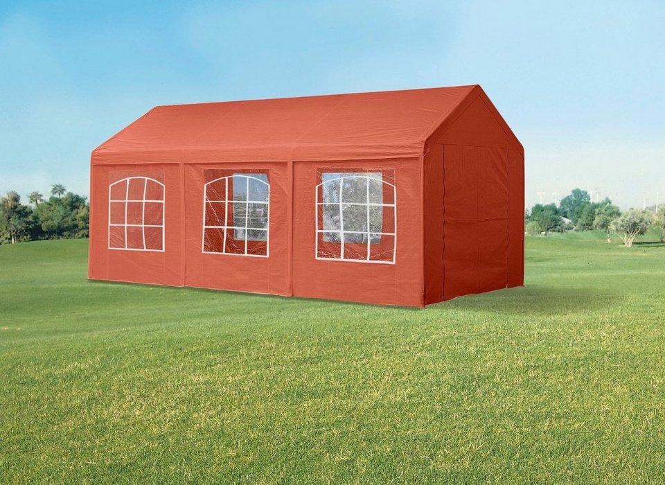 Pavillon »Festzelt« in rot