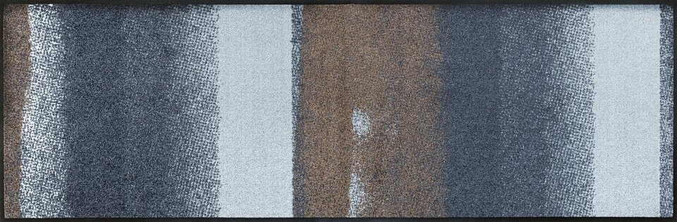 Läufer, wash+dry by Kleen-Tex, »Medley«, rutschhemmend beschichtet, In- und Outdoor in grau-braun