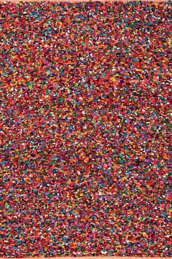 Teppich, Papilio, »Popcorn«, handgearbeitet