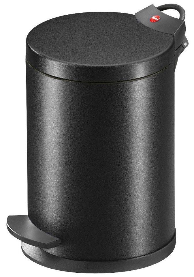 Kosmetik-Abfalleimer »T2.4 blackline« in schwarz