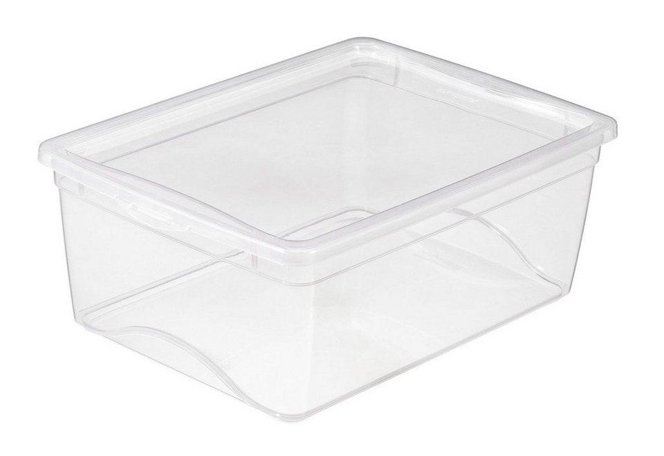 6er Set Aufbewahrungsboxen »11 Liter« in weiß