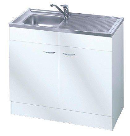 Held Möbel Spülenschrank, Breite 80 cm in weiß