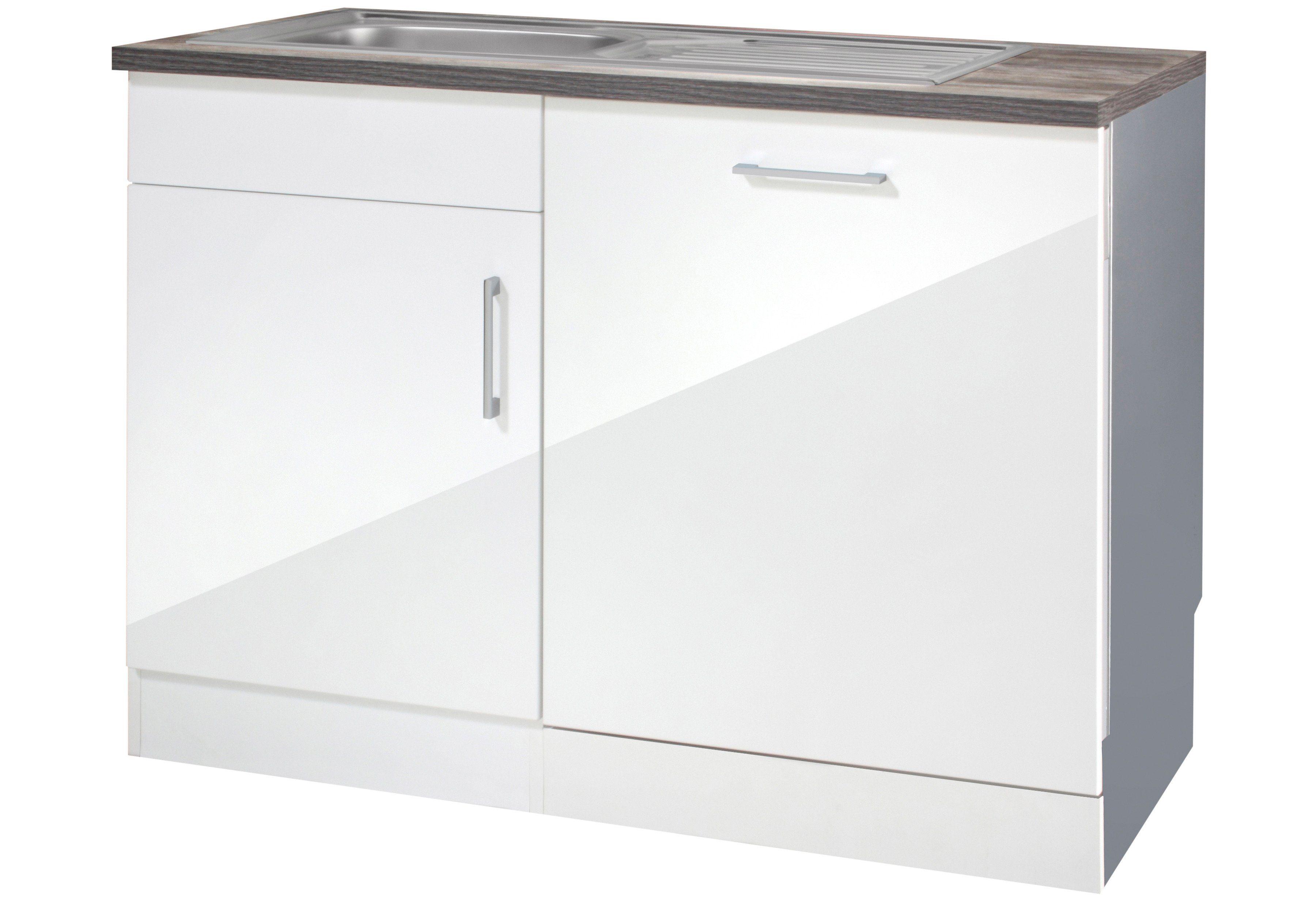 Held Möbel Spülenschrank »Philadelphia«, Breite 110 cm