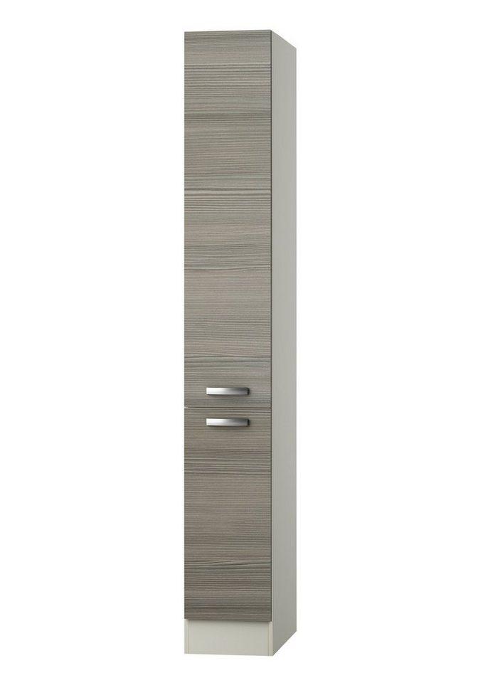 Apothekerschrank »Vigo«, Höhe 206,8 cm in piniefarben nougat/champagnerfarben