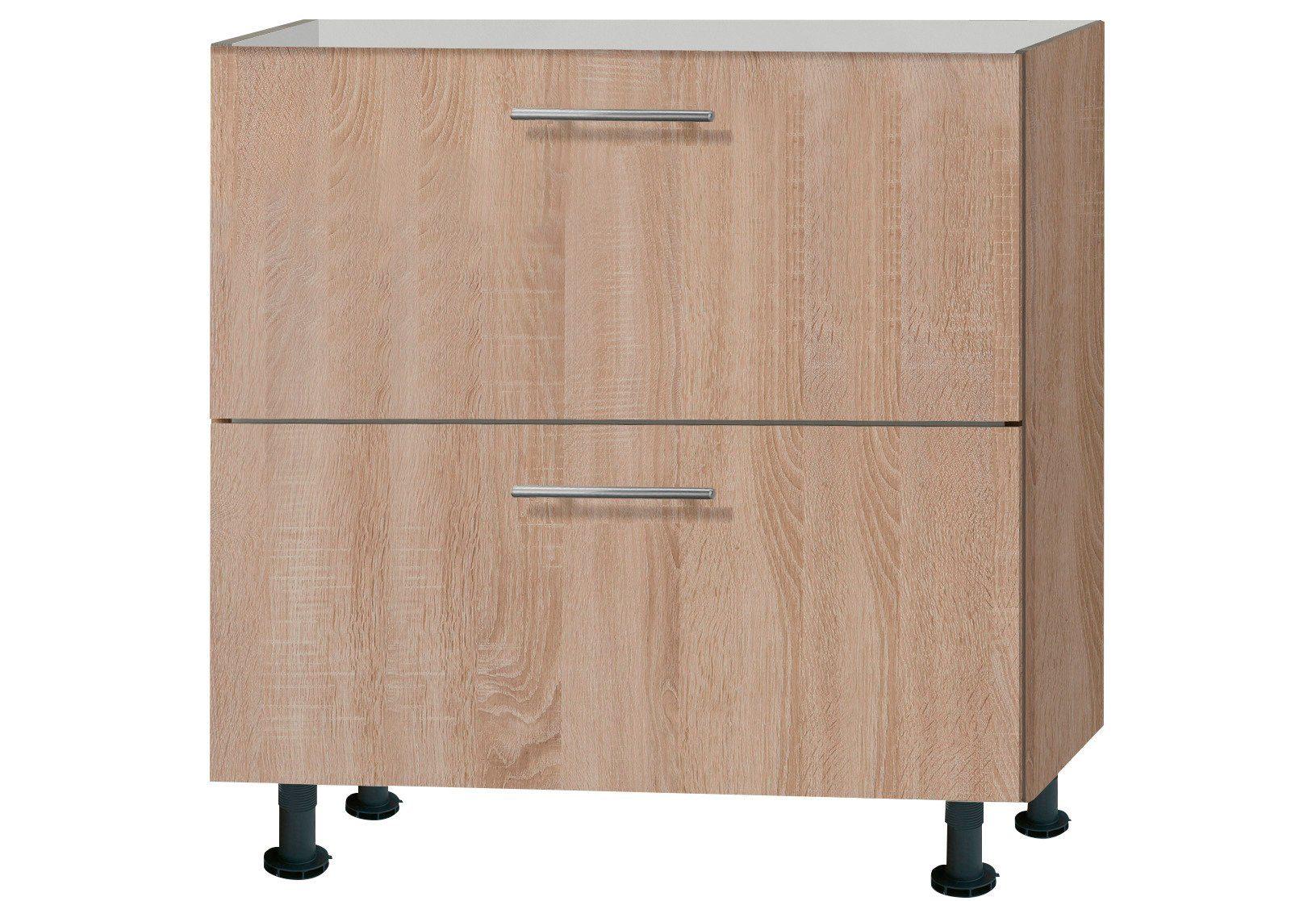 Optifit Küchenunterschrank »Lasse«, Breite 80 cm