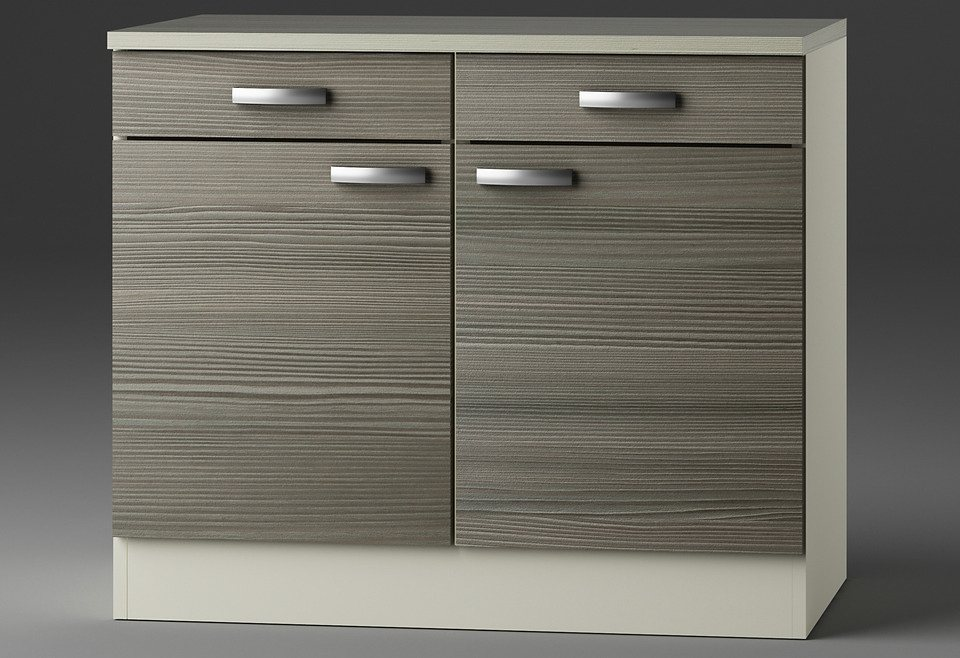 optifit k chenunterschrank vigo breite 100 cm otto. Black Bedroom Furniture Sets. Home Design Ideas
