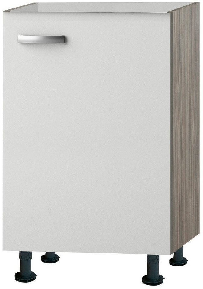 Spülenschrank »Torger«, Breite 50 cm in piniefarben nougat/weiß