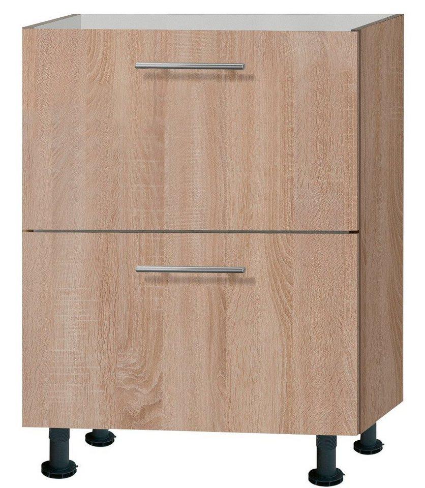 Küchenunterschrank »Lasse«, Breite 60 cm in eichefarben