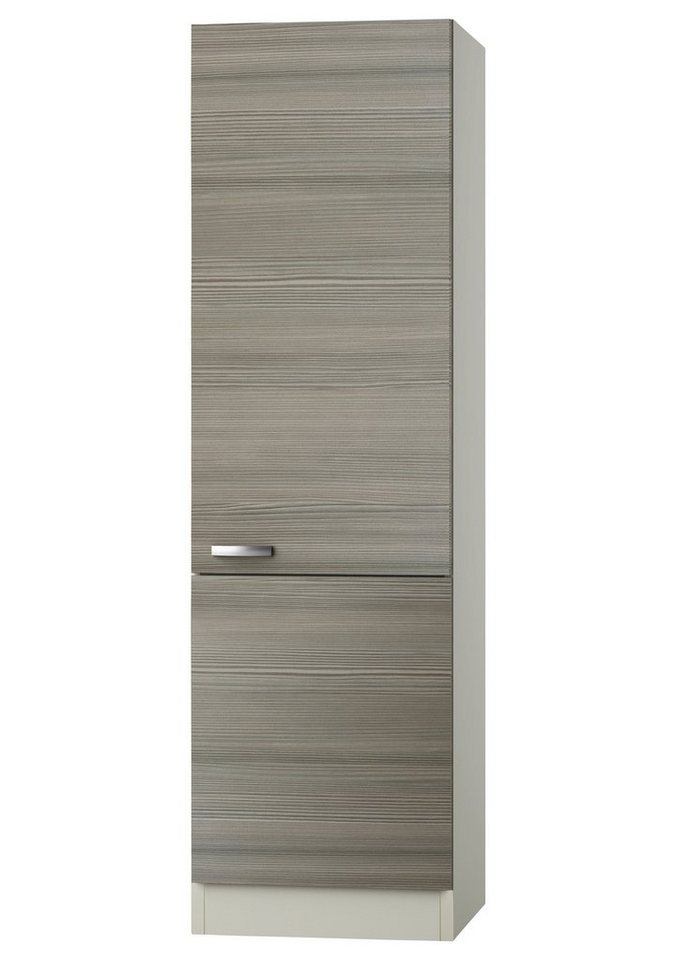 Vorratsschrank »Vigo«, Breite 60 cm in piniefarben nougat/champagnerfarben