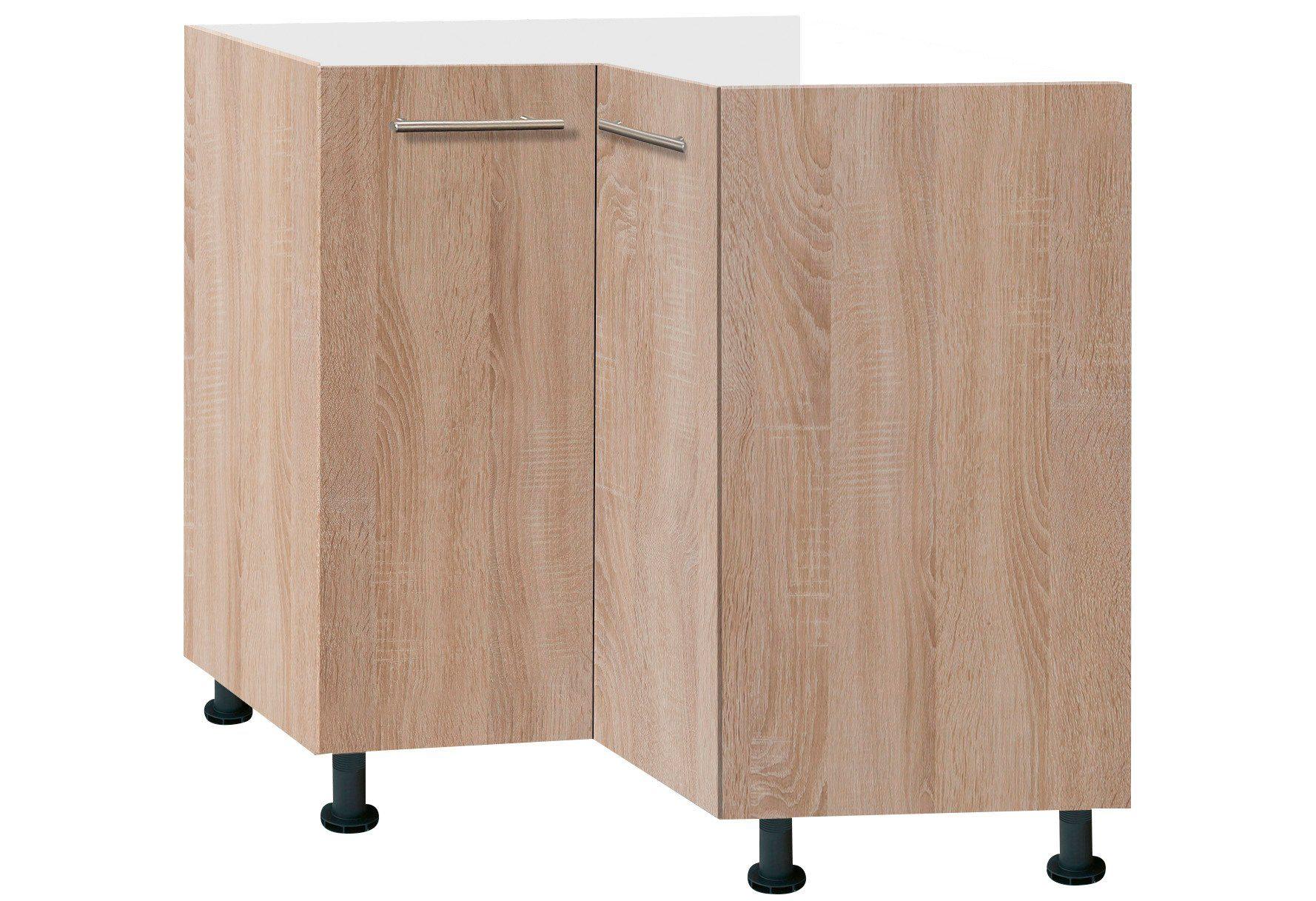 Optifit Eckunterschrank »Lasse«, Breite 90 x 90 cm