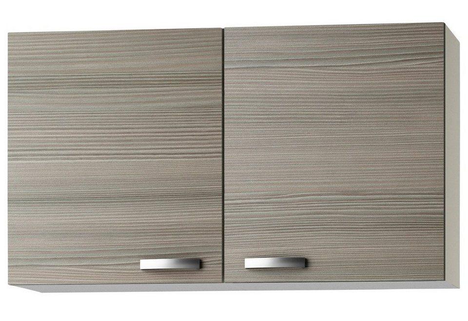 Küchenhängeschrank »Vigo«, Breite 100 cm in piniefarben nougat/champagnerfarben