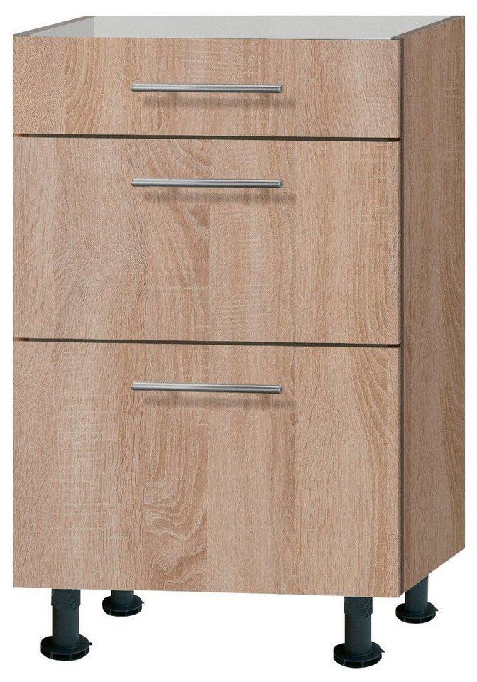 Küchenunterschrank »Lasse«, Breite 50 cm in eichefarben