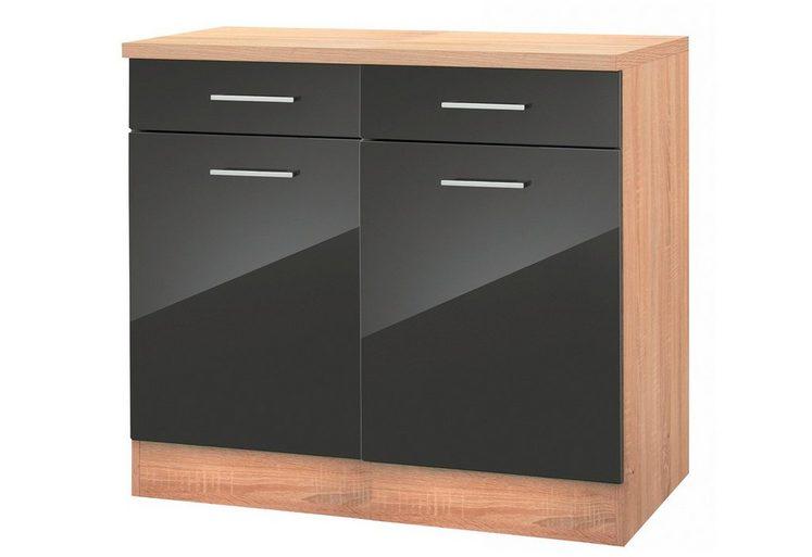 Held Möbel Küchenunterschrank »Monaco«, Breite 100 cm
