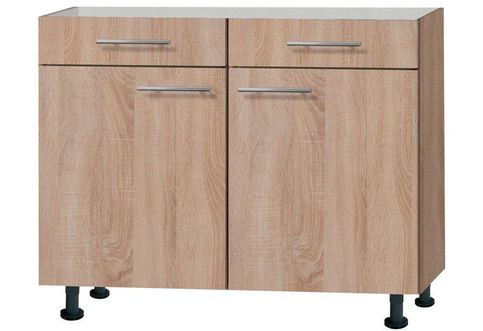 Küchenunterschrank »Lasse«, Breite 100 cm in eichefarben