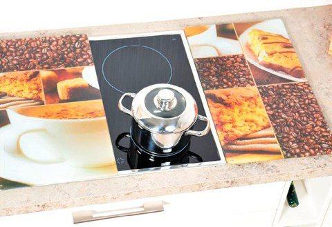 Herdabdeckplatten »Coffee«, 2er-Set in braun