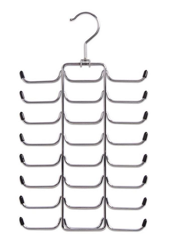 Krawatten- /Gürtelbügel in silberfarben