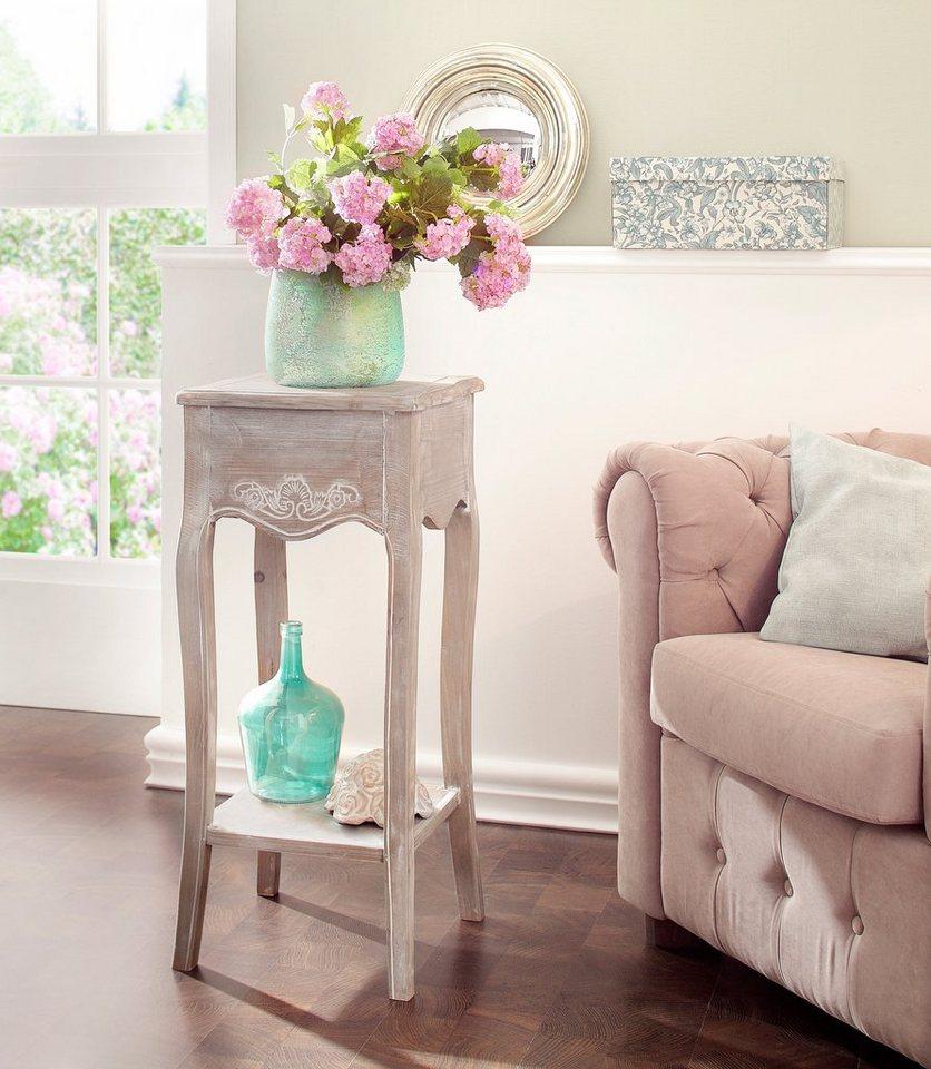 Liebenswert Einrichtungstipps Wohnzimmer Dekoration Von Home Affaire Beistelltisch Im Shabby Chic