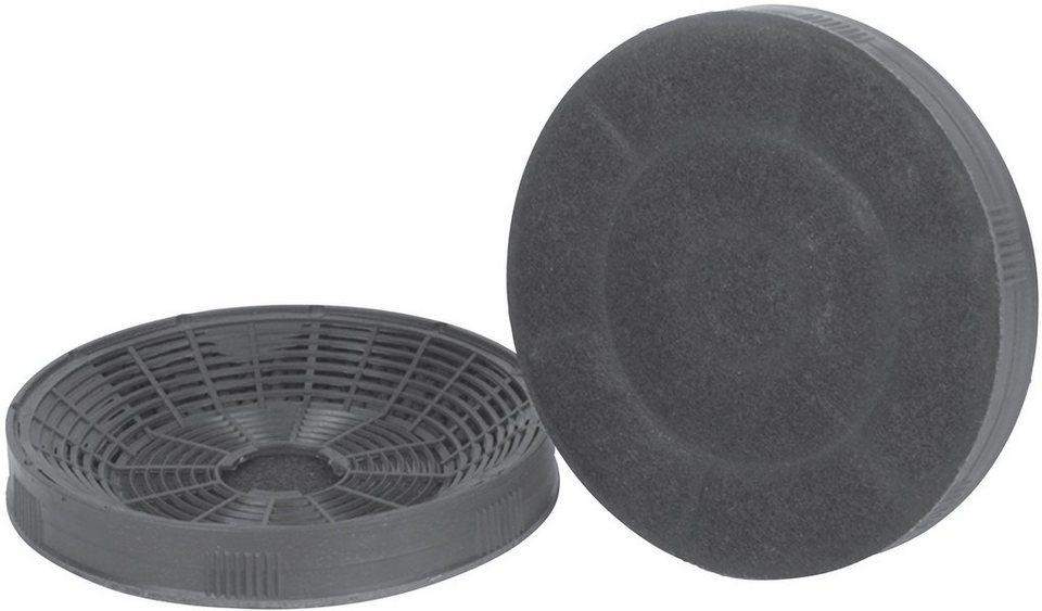 Silverline dunstabzugshauben aktivkohlefilter »af 100« 2er pack