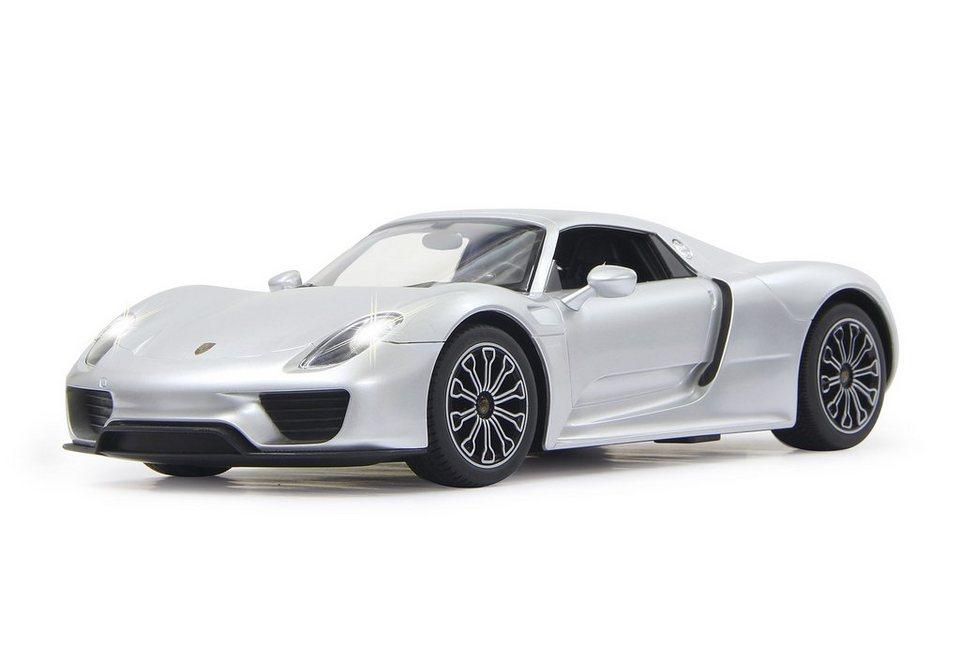 JAMARA RC-Auto, »Porsche 918 Spyder 1:14 weiß« in silber