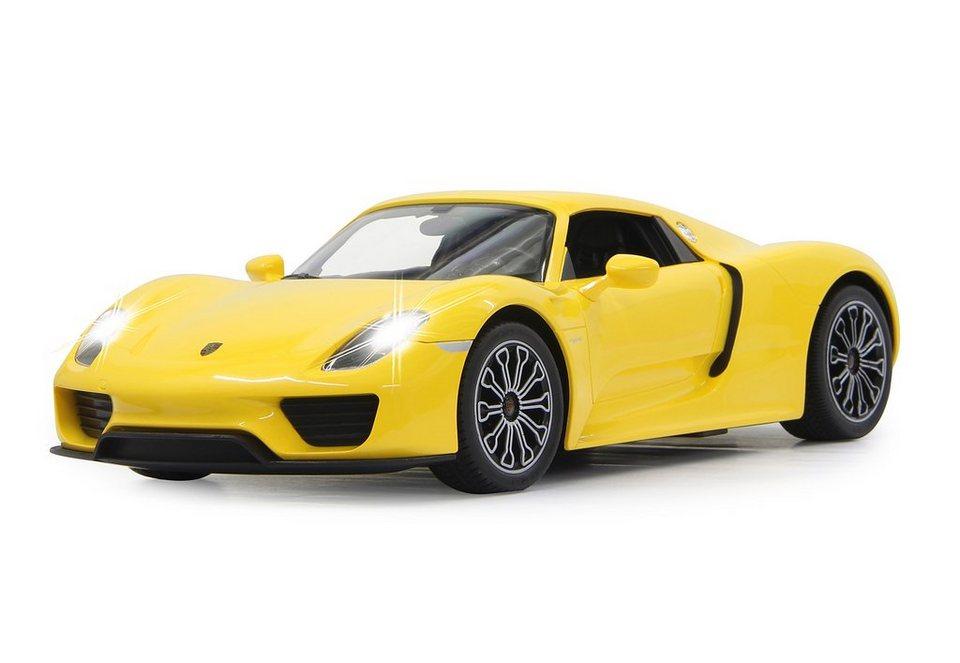 JAMARA RC-Auto, »Porsche 918 Spyder 1:14 gelb« in gelb
