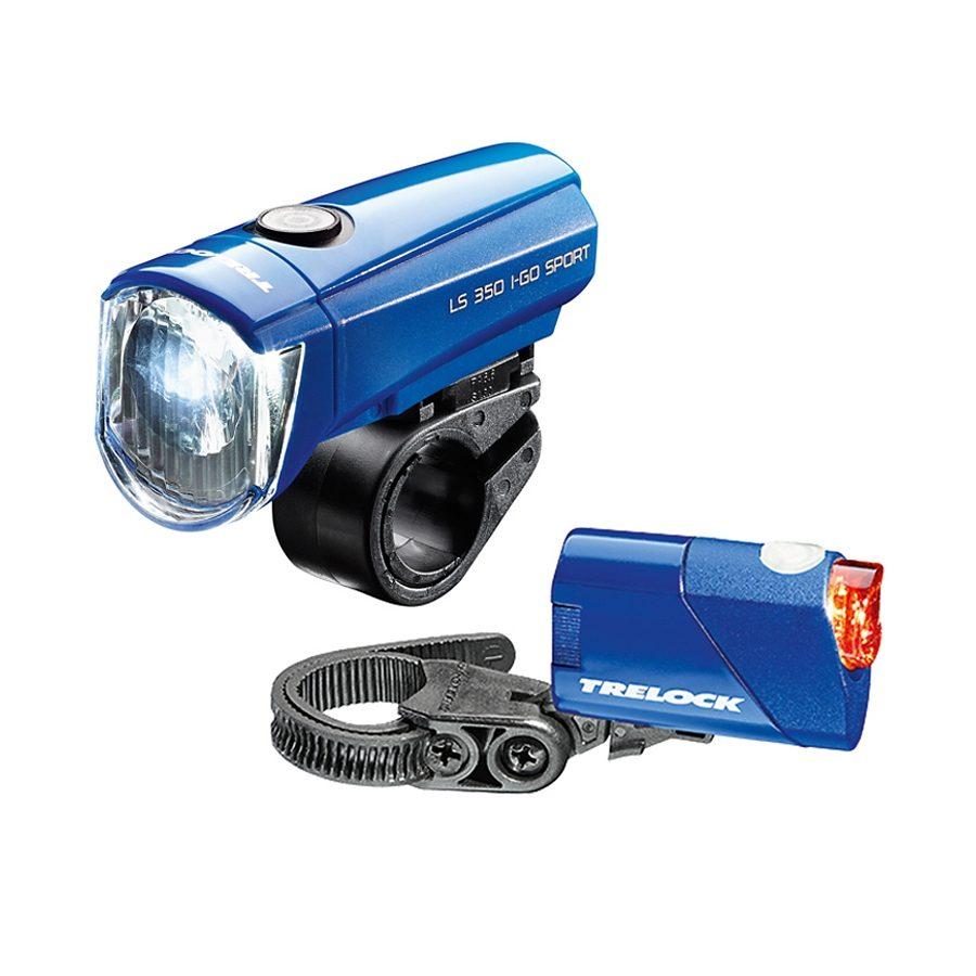 Trelock Fahrradbeleuchtung »Trelock LS350 I-go Sport + LS710 Reego«