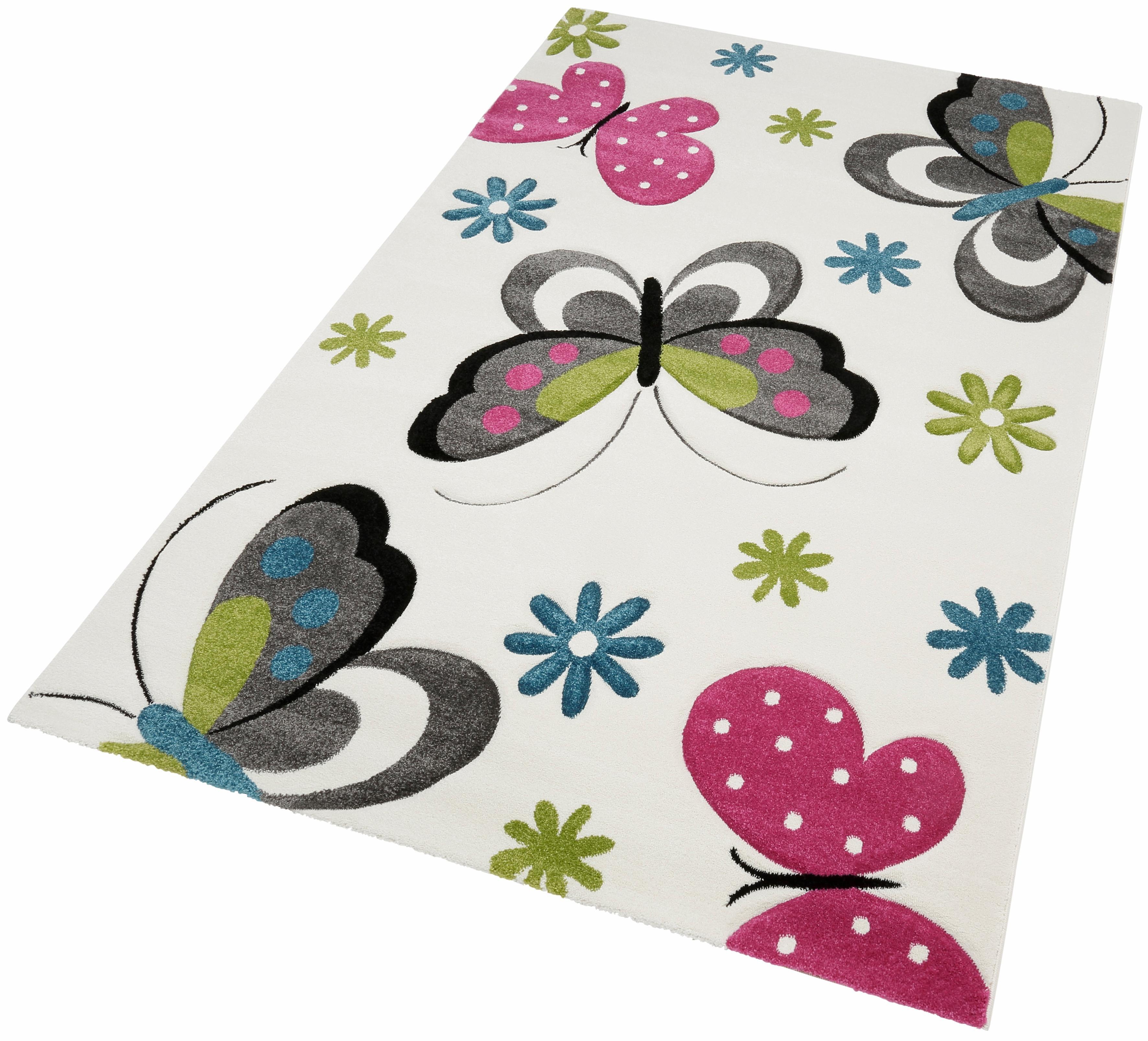 Kinderteppich »GARTEMPE«, merinos, rechteckig, Höhe 13 mm, handgearbeiteter Konturenschnitt | Kinderzimmer > Textilien für Kinder > Kinderteppiche | merinos