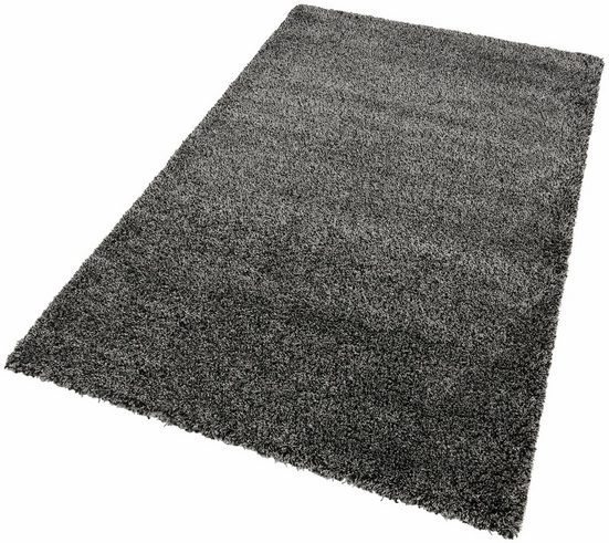 Hochflor-Teppich »INDRE«, merinos, rechteckig, Höhe 50 mm, Melange-Effekt