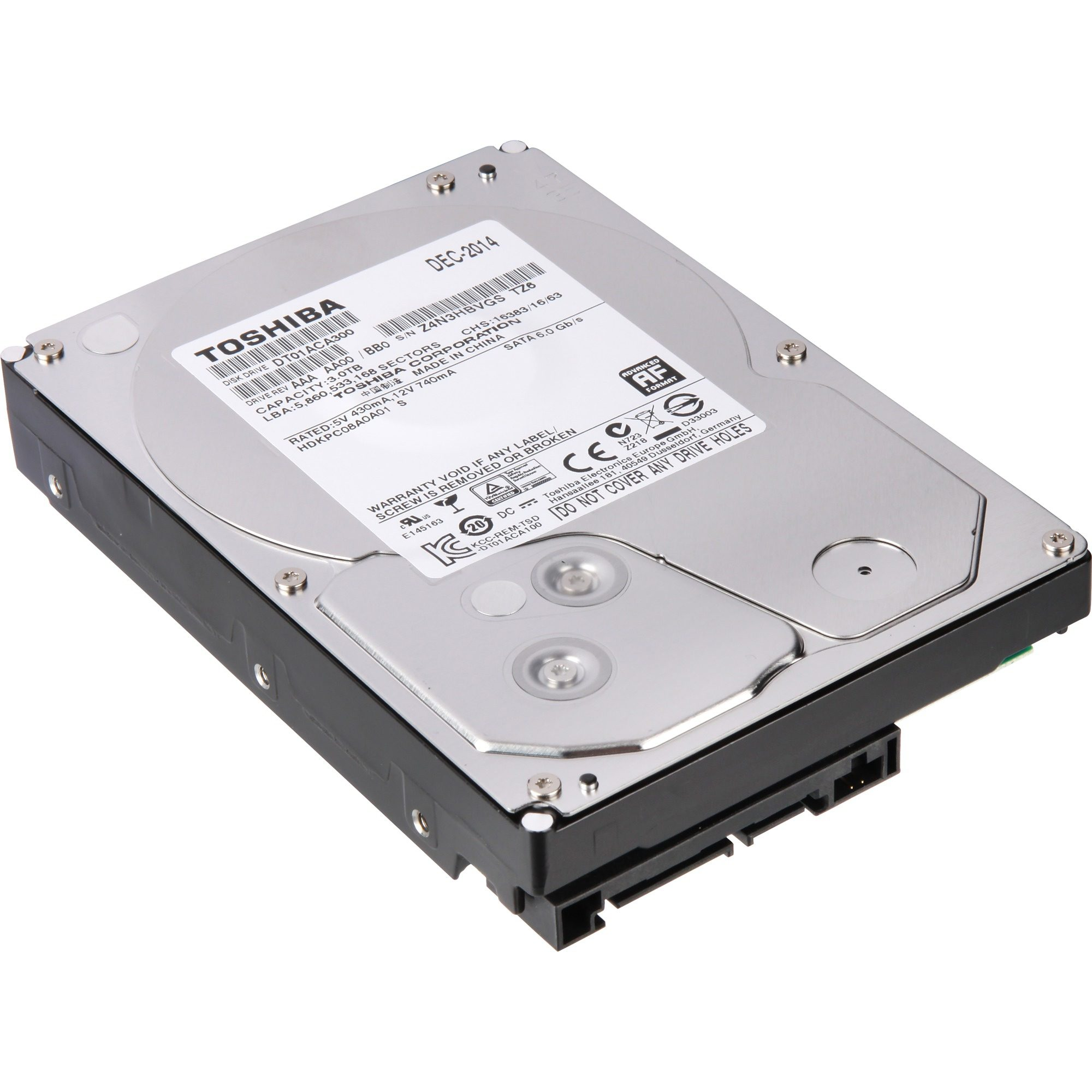 "Intenso Festplatte »3,5"" Internal Hard Drive - Retail Kit 4 TB«"