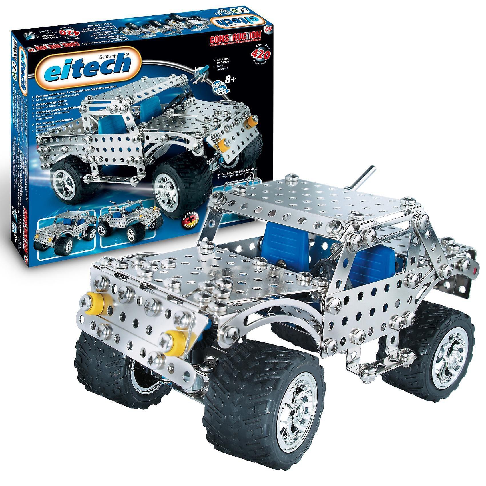 "Eitech C 09 KLASSIKER Metallbaukasten - ""Jeep"""