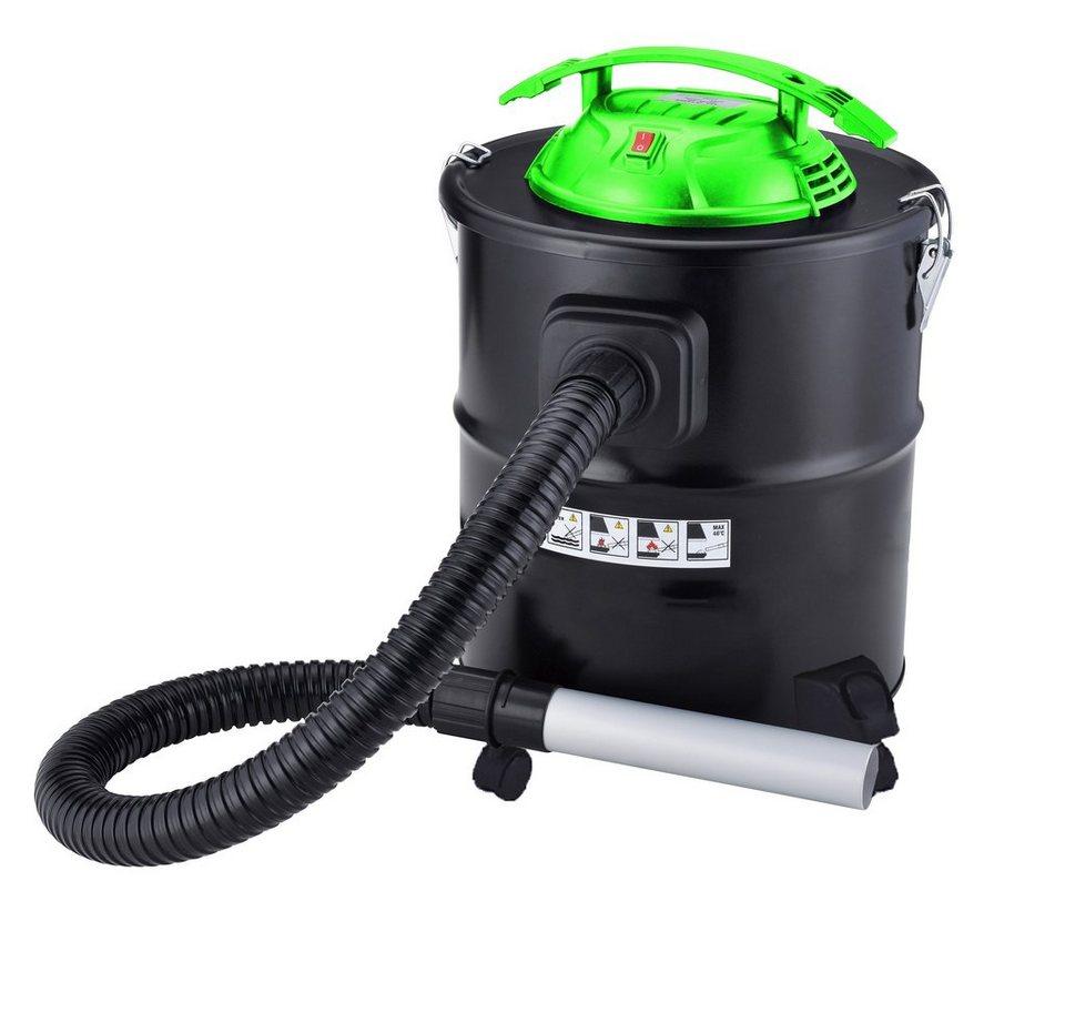 Aschesauger »800 Watt«, 15 Liter, für Kaminöfen, Grills und Küchenöfen in schwarz