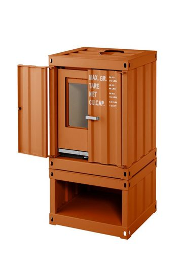 color emajl kaminofen rotterdam stahl orange 5 kw ext luftzufuhr containerstyle online. Black Bedroom Furniture Sets. Home Design Ideas