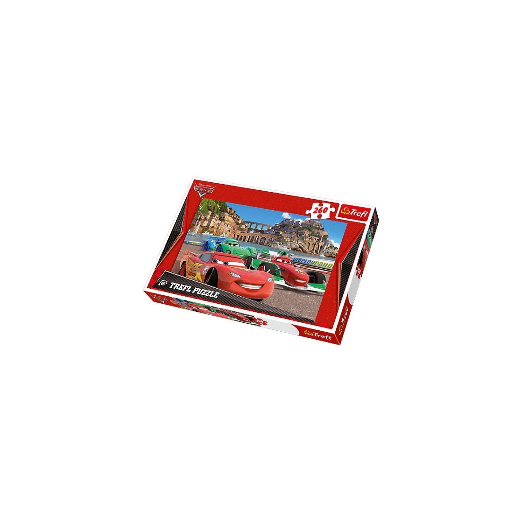 Trefl Puzzle 260 Teile - Disney Cars 2