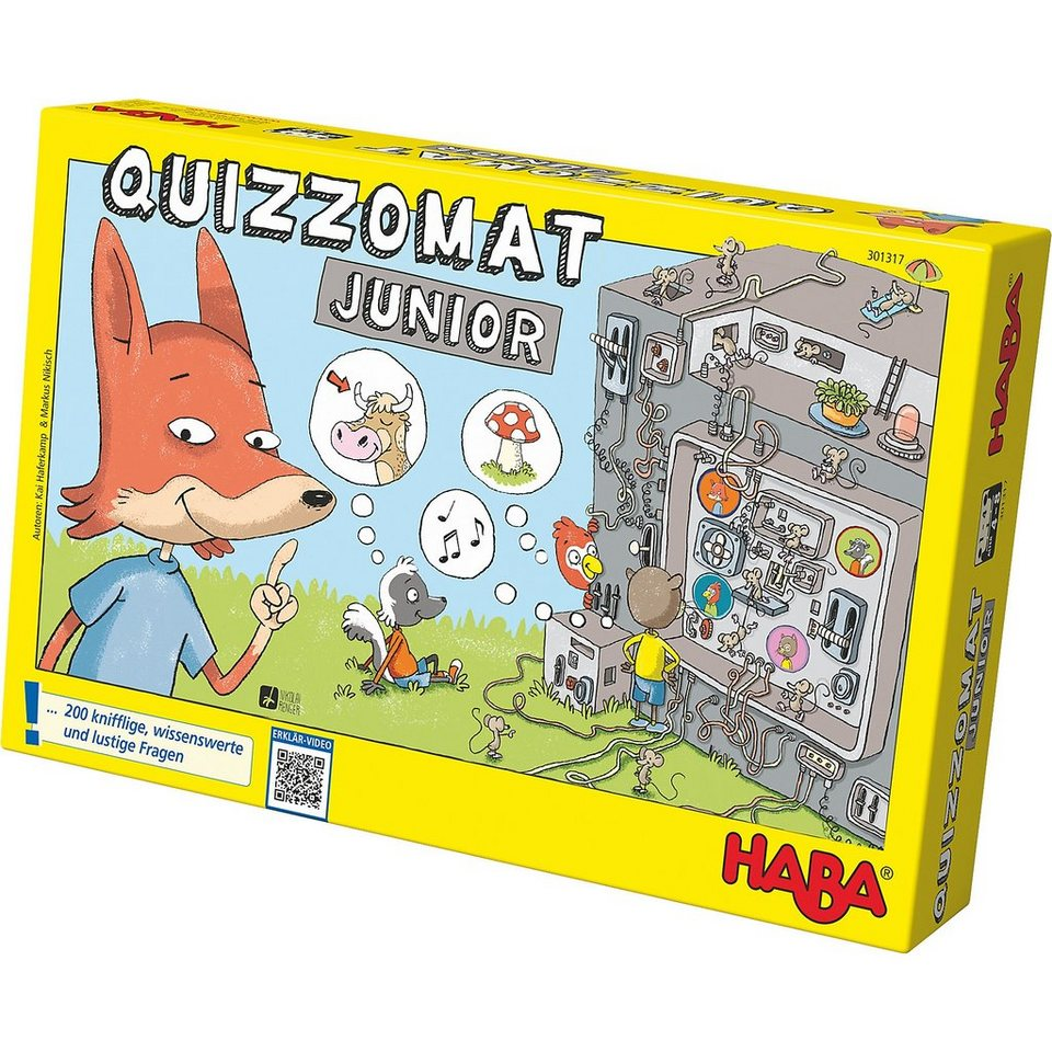 Haba 301317 Quizzomat Junior