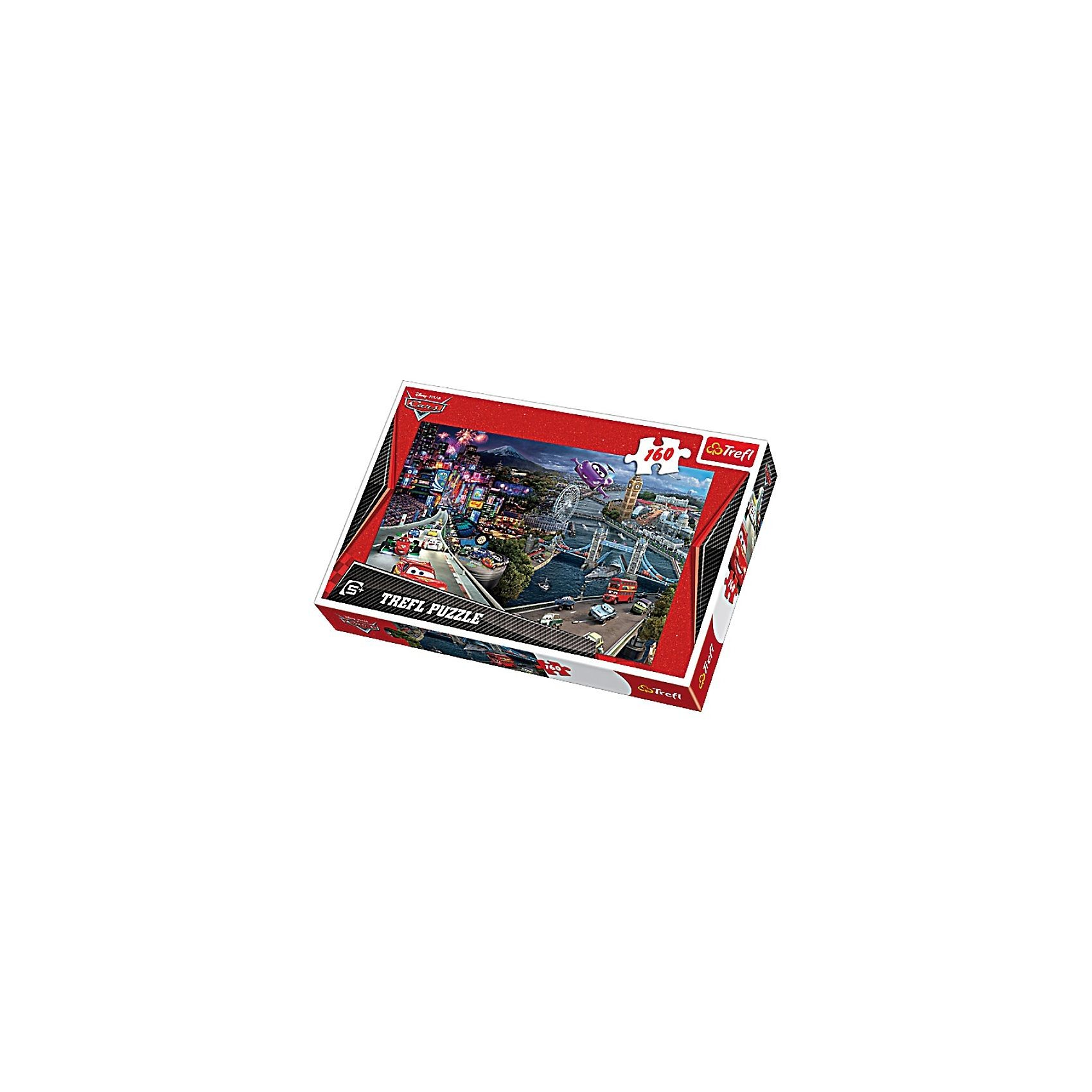 Trefl Puzzle 160 Teile - Cars