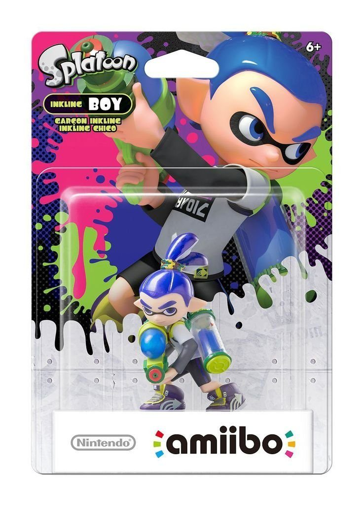 Nintendo Wii U - Spiel »amiibo Splatoon Inkling-Junge«