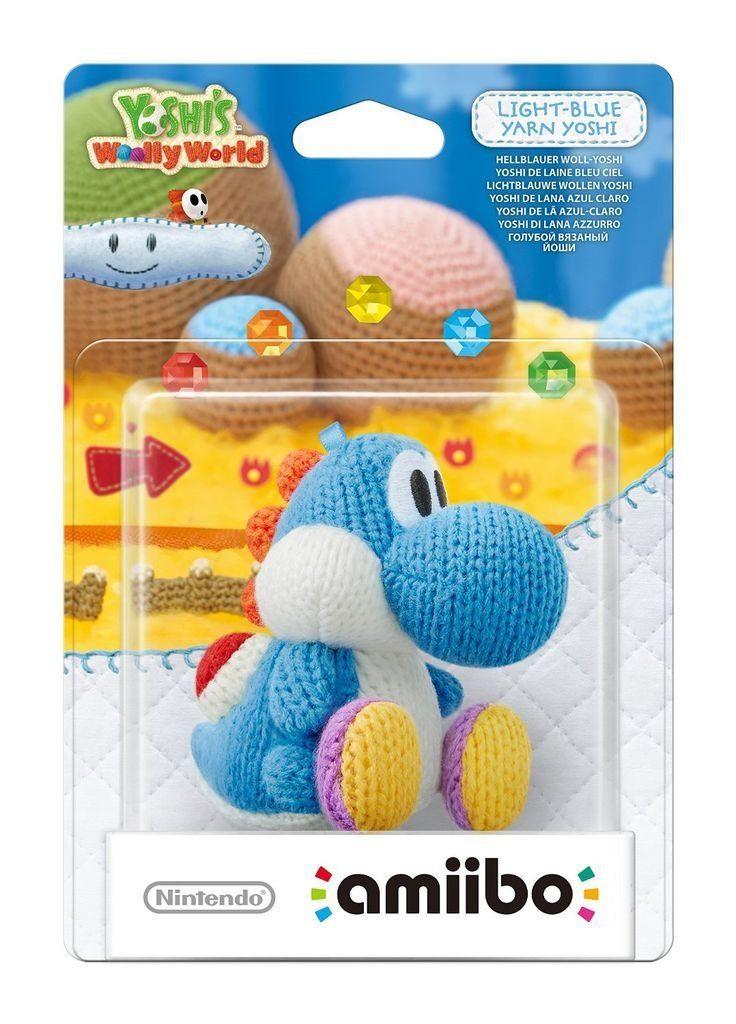 Nintendo Wii U - Spiel »amiibo Woll-Yoshi Hellblau«