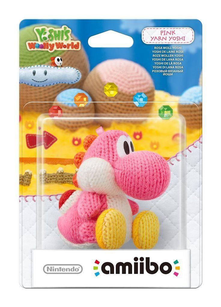 Nintendo Wii U - Spiel »amiibo Woll-Yoshi Pink«