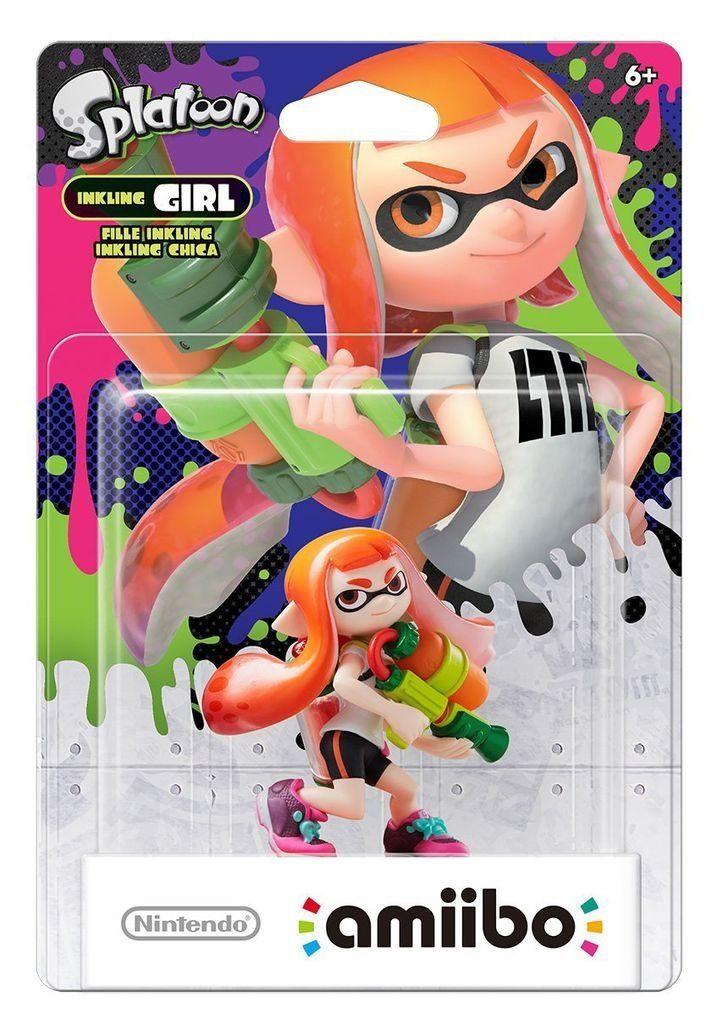 Nintendo Wii U - Spiel »amiibo Splatoon Inkling-Mädchen«