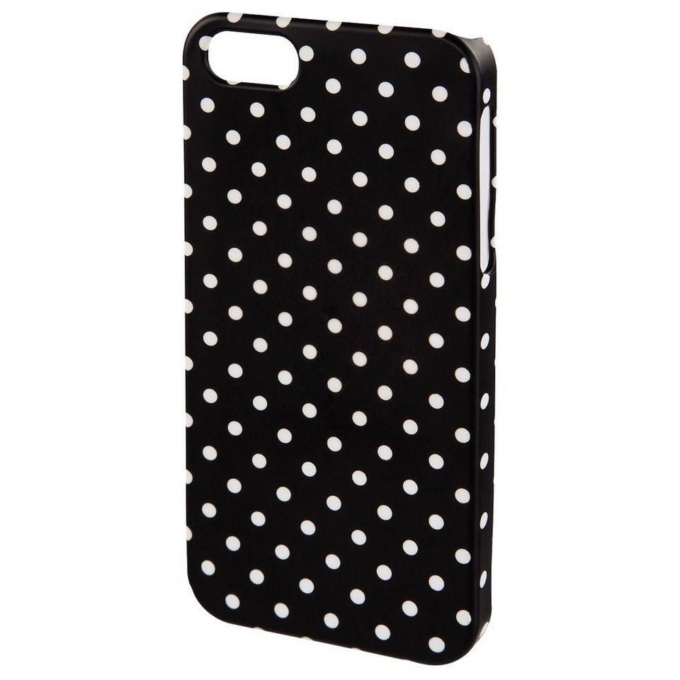Hama Cover Polka Dots für Apple iPhone 6/6s, Schwarz/Weiß in Schwarz