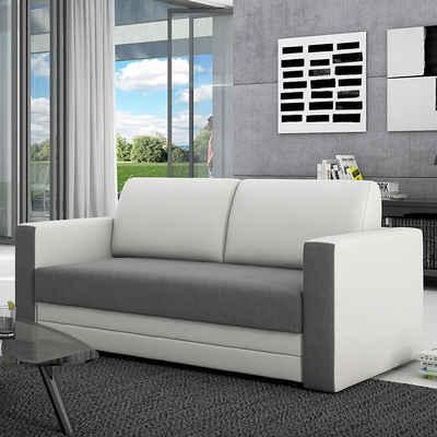 Wohnzimmercouch mit schlaffunktion  elegantes couch mit schlaffunktion sofa schlafsofa wohnzimmercouch ...