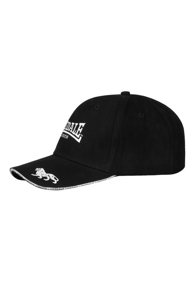 Lonsdale Kappe »Cap TAPE« in Black