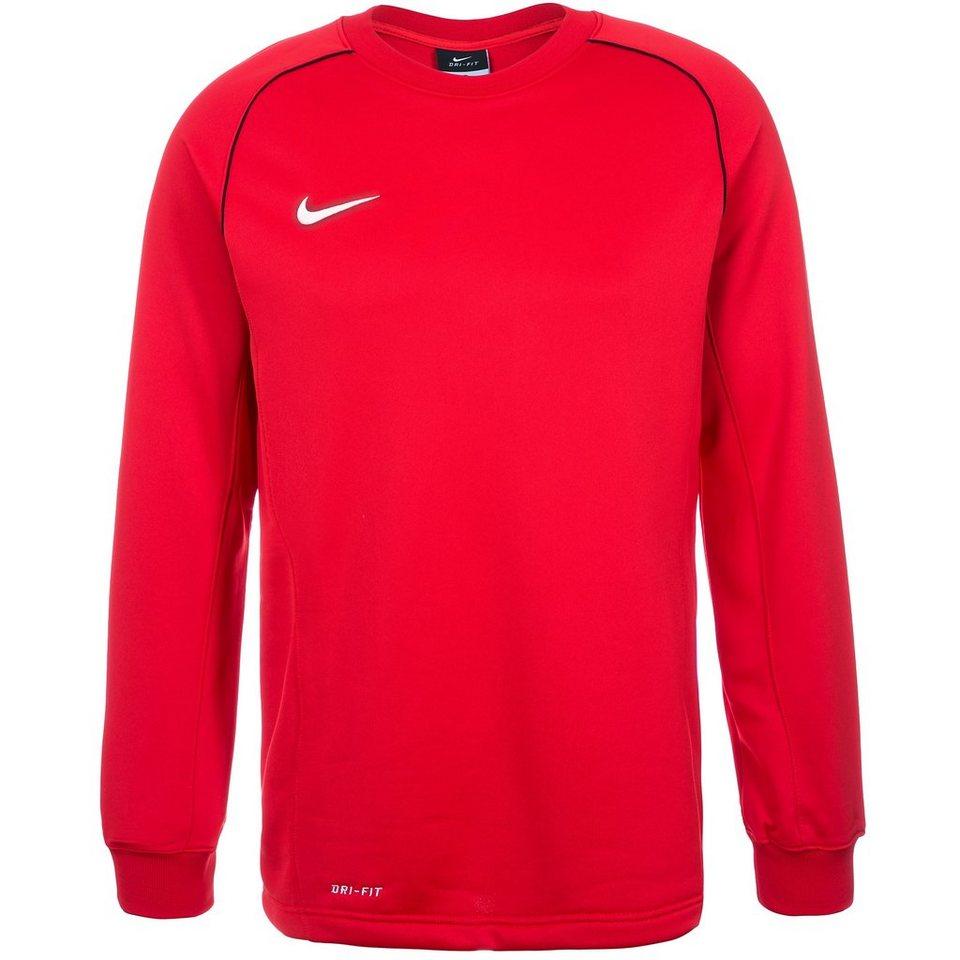 NIKE Foundation 12 Midlayer Sweatshirt Herren in rot / weiß