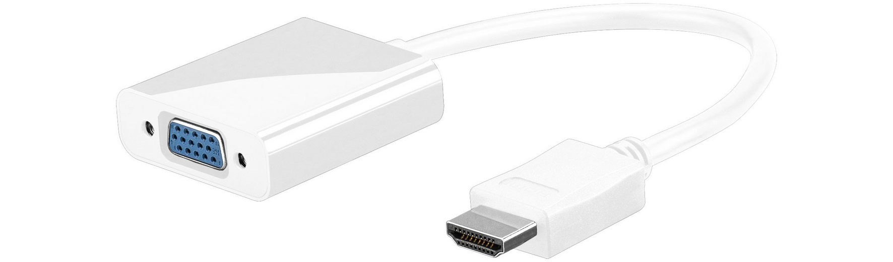 goobay Adapter »HDMI zu VGA«