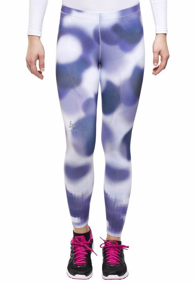 Odlo Jogginghose »EBE insideout Tights short cut Women« in blau